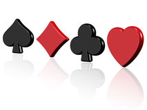 Aces casino Stock Photography