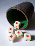 Aces dices Stock Photography
