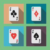 Aces 03 flat Stock Photography