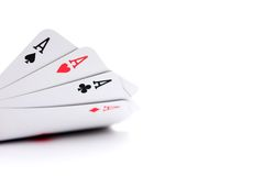 Aces high! Stock Images