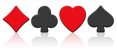 Aces Kasino Lizenzfreies Stockbild