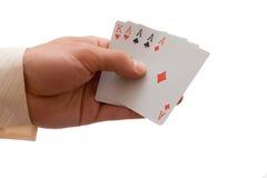 Aces & king Stock Photos