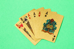 Aces and kings Royalty Free Stock Photography