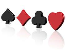 Aces o casino Fotografia de Stock