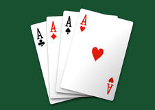 Aces Square Stock Photography