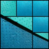 Acessório da chuva da água do tempo da segurança do guarda-chuva Fotos de Stock Royalty Free