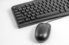 Acessório do teclado do rato do computador Imagem de Stock Royalty Free