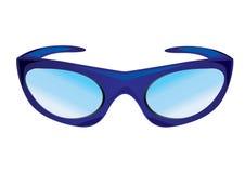 Acessório dos óculos de sol isolado ilustração do vetor