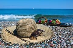 Acessórios coloridos do verão Fotos de Stock
