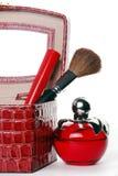 Acessórios cosméticos Imagem de Stock Royalty Free