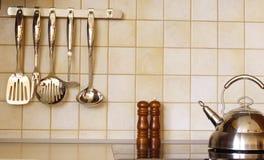 Acessórios da cozinha Fotografia de Stock Royalty Free