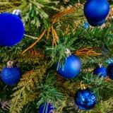 Acessórios da decoração do Natal Fotografia de Stock Royalty Free