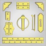 Acessórios da mobília ilustração stock