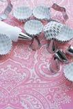 Acessórios da pastelaria Fotos de Stock Royalty Free