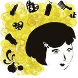 Acessórios das mulheres Ilustração Royalty Free