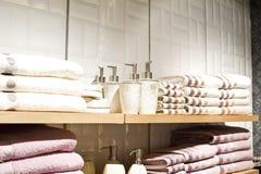 Acessórios do banho Fotos de Stock Royalty Free