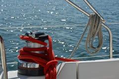 Acessórios do barco Fotografia de Stock Royalty Free
