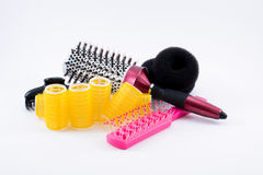 Acessórios do cabelo fotografia de stock royalty free