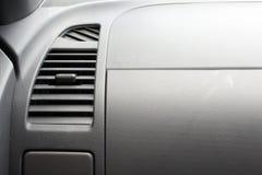 Acessórios do carro que canalizam o condicionamento de ar Condicionador de ar em COM foto de stock royalty free