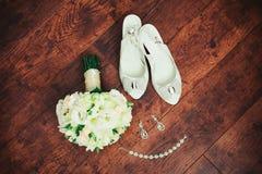 Acessórios do casamento das mulheres Imagens de Stock