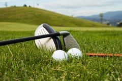 Acessórios do golfe Foto de Stock Royalty Free