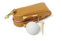 Acessórios do golfe Fotos de Stock