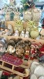 Acessórios do Natal - cor, presentes felizes, sazonais fotografia de stock royalty free