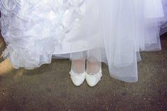 Acessórios doces do casamento Foto de Stock Royalty Free