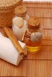 Acessórios dos TERMAS para o wellness ou o relaxamento Imagem de Stock