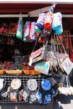 Acessórios nacionais do bordado de China Fotografia de Stock