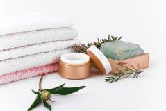 Acessórios para a massagem Imagens de Stock Royalty Free