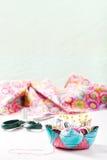 Acessórios para sewing Imagem de Stock