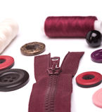 Acessórios Sewing Fotos de Stock Royalty Free