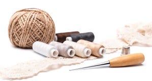 Acessórios Sewing Fotografia de Stock Royalty Free