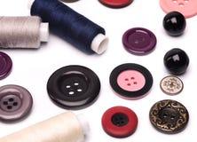 Acessórios Sewing Imagens de Stock