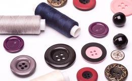 Acessórios Sewing Imagem de Stock
