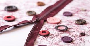 Acessórios Sewing Fotos de Stock