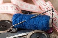 Acessórios Sewing Foto de Stock
