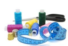 Acessórios Sewing ajustados Imagem de Stock Royalty Free