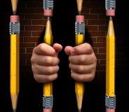 Acesso da educação ilustração royalty free