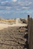 Acesso da praia Imagens de Stock Royalty Free