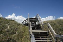 Acesso da praia Fotografia de Stock Royalty Free