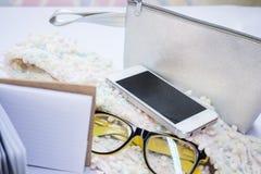 Acessories del bolso de la señora Imágenes de archivo libres de regalías