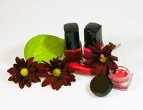 Acessories del maquillaje Fotos de archivo libres de regalías