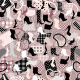 Acessories pattern Stock Images