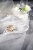 Acessórios do casamento Fotos de Stock