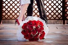 Acessórios do casamento Imagens de Stock Royalty Free