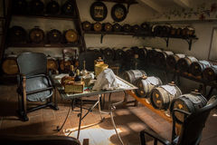 Acetaia - balsamic vinäger av Modena Royaltyfri Bild