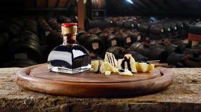 Acetaia balsamico ε Aceto Στοκ εικόνες με δικαίωμα ελεύθερης χρήσης