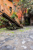 Acetari fyrkant i Roma Royaltyfri Foto